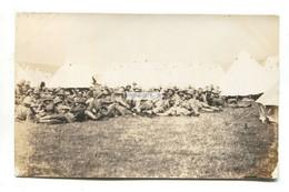 Folkestone Area - Army Camp, Officers, Tents - 1906 Used Real Photo Postcard - Folkestone