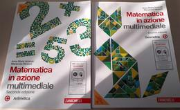 Matematica In Azione Aritmetica-Geometria Tomi C/D - Matematica E Fisica