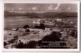 Pointe-à-Pitre - La Rade Et Le Transatlantique Cuba à Quai - édit. Charles Boisel  + Verso - Pointe A Pitre