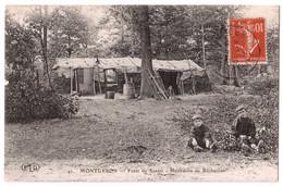 Montgeron - Forêt De Sénart - Habitation De Bûcherons - édit. E.L.D. Le Deley 42 + Verso - Montgeron