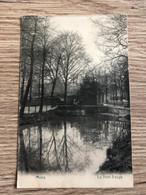 Carte Postale Ancienne Animée MONS Le Pont Rouge - Mons