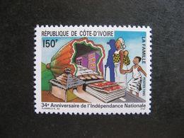 Cote D'Ivoire: TB N° 939, Neuf XX. - Ivory Coast (1960-...)