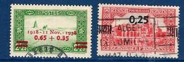 """Algerie YT 147 & 148 """" Surchargés """" 1938 Oblitéré - Oblitérés"""