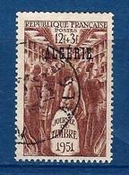 """Algerie YT 287 """" Journée Du Timbre """" 1951 Oblitéré - Oblitérés"""
