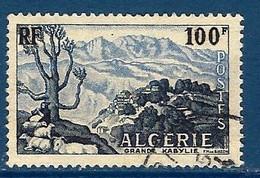 """Algerie YT 331 """" Grande Kabylie """" 1955 Oblitéré - Oblitérés"""