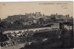Carcassonne Cité Vue Prise à L'ouest - Carcassonne