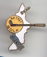 VF450 Pin's Village Charente Maritime Ile Oléron Phare Mini Golf Qualité Egf Achat Immédiat - Golf