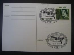 Deutschland BRD 1975- Postkarte Gelaufen Mit MiNr. 827 Und Sonderstempel Deutsch-französ, Nachrichtensatellit - Covers & Documents