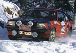 Voiture OPEL N° 159 - Rallye Monté-Carlo Historique - 2007- BE Voir Scans Recto/verso - Rally's