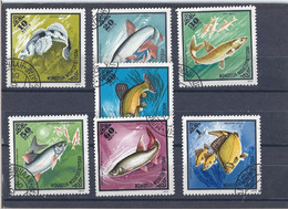 Used Stamps Nr.952-958 In MICHEL Catalog - Mongolia