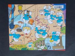 BELGIQUE -     BLOCS FEUILLETS N° 159  BD LES SCHTROUMPFS  -  Année 2008 Neuf XX Voir Photo - Blocks & Kleinbögen 1962-....