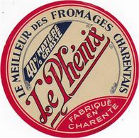 ETIQUETTE DE FROMAGE  NEUVE  LE PHENIX CHARENTAIS - Cheese