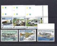 BRITISH VIRGIN ISLANDS THEME AVION AVIATION CAMION UN - Aerei