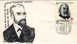 Robert Koch - Mexiko TBC Tuberkulose 1982 - Medicina