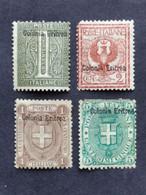 ITALY ERITREA Overprint 1893 Unused - Zonder Classificatie