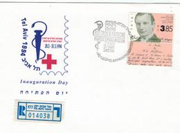 Waldemar Mordecai Haffkine War Ein Bakteriologe - Rotes Kreuz - Tel Aviv 1994 - Medizinische Selbstversuche - Reko ✡ - Medicina
