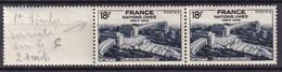 FRANCE - 18 F. ONU Avec C De FRANCE Barré En Aoure Avec Normalneuf TTB - Varieteiten: 1945-49 Postfris