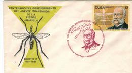 Carlos Juan Finlay De Barrés Kubanischer Arzt Wissenschaftler, Entdeckt Moskito Als Überträger Des Gelbfiebers - Medicina