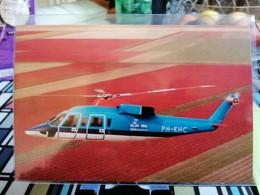 NEDERLAND KLM ERA HELIKOPTERS Company Card - Helicopters