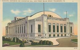 USA 1940 VF Mint Col Pc Municipal Auditorium And Convention Hall, PHILADELPHIA - Philadelphia