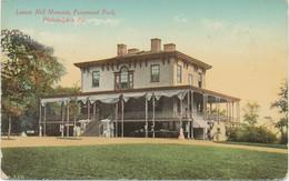 USA Ca. 1920 Mint Coloured Pc Lemon Hill Mansion, Fairmount Park, PHILADELPHIA - Philadelphia