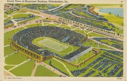 USA Ca. 1950, Superb Mint Postcard Aeril View Of Municipal Stadium, PHILADELPHIA - Philadelphia