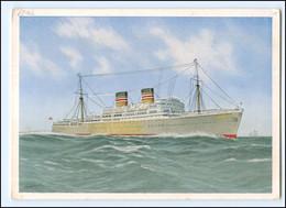 XX13388/ Dampfer Windhuk Deutsche Afrika-Linien  AK Ca.1935  - Steamers