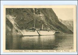 XX13233/ Dampfer Meteor In Norwegen  Hamburg-Amerika-Linie AK Ca.1925 - Piroscafi