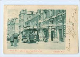 XX13337/ Amsterdam Marnixstraat Straßenbahn AK 1901 Niederlande - Unclassified
