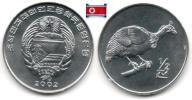 Corée Du Nord - ½ Chon 2002 (Helmented - UNC) - Korea, North