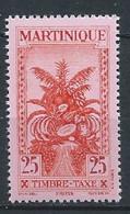 Martinique YT Taxe 25 Neuf Sans Charnière - XX - MNH - Timbres-taxe