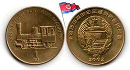 Corée Du Nord - 1 Chon 2002 (UNC - Locomotive) - Korea, North