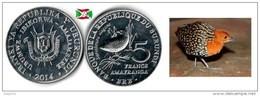 Burundi - 5 Francs 2014 (Sarothrura Elegans) UNC - Burundi