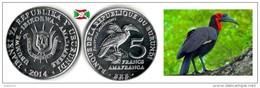 Burundi - 5 Francs 2014 (Bucorvus Leadbeateri) UNC - Burundi