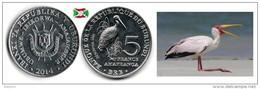 Burundi - 5 Francs 2014 (Mycteria Ibis) UNC - Burundi
