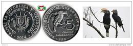 Burundi - 5 Francs 2014 (Bycanistes Bucinator) UNC - Burundi