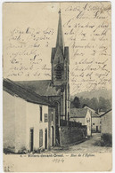 VILLERS-DEVANT-ORVAL : Rue De L'église - 1904 - Florenville