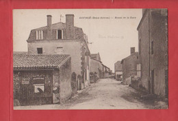 GOURGE                    Rue De La Gare             79 - Unclassified