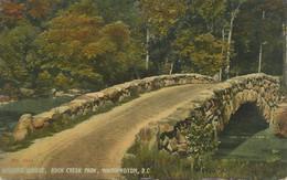 USA 1910 Superb Mint Coloured Pc Boulder Bridge, Rock Creek Park, WASHINGTON DC - Washington DC