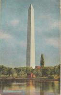 "USA 1910 Very Fine Used Coloured Pc ""WASHINGTON Monument From The Potomac"" - Washington DC"