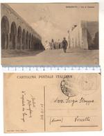 Foto 1912 AFRICA ORIENTALE - Cirenaica MISURATA - Regio Esercito - Via Al Castello - Libia