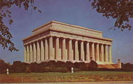"USA Ca. 1970 Mint Coloured Pc ""The Lincoln Memorial, WASHINGTON, D.C."" - Washington DC"