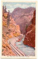 USA 1920, Rocky Point, Clear Creek, Canon Colorado, USA, Colored, Unused, TOP - Trains