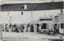52 HAUTE MARNE BIELLES BIESLES RUE CHATEAU BAL CAFE BELLE ANIMATION JOLI PLAN - Sonstige Gemeinden