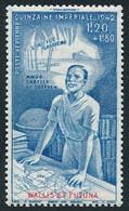 WALLIS ET FUTUNA 1942 - Yv. PA 3 **   Cote= 3,00 EUR - Quinzaine Impériale  ..Réf.W&F23130 - Unused Stamps