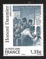 France 2008 - Yv N° 4305 ** - Honoré Daumier - Ungebraucht