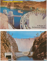 USA 1970 2 Superb Mint Coloured Pc's HOOVER DAM, Located At The Nevada-Arizona Boundary - Other