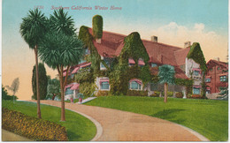 """USA Ca. 1910/20 Superb Mint Coloured Pc """"Southern California Winter Home"""" - Other"""