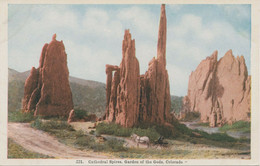 USA Ca. 1920 Superb Mint Postcard Cathedral Spires, Garden Of The Gods, Colorado - Other