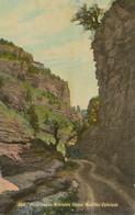 USA Ca. 1930 Superb Mint Postcard Picturesque Williams Canon MANITOU Colorado - Other